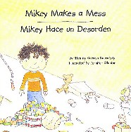 Mikey Makes a Mess storybook