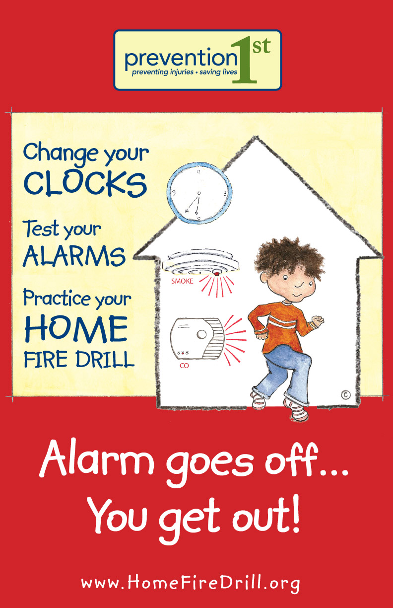 Home Fire Drill Prevention 1st