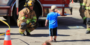 firefighter&child