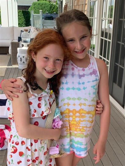 Camp;bell Rogoff with her friend and co-counselor Lily Rae.